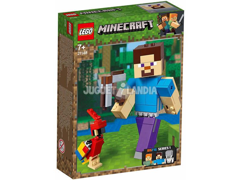 Lego Minecraft BigFig Series 1 Steve com Louro 21148