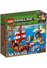 Lego Minecraft L'Aventure du Bateau Pirate 21152