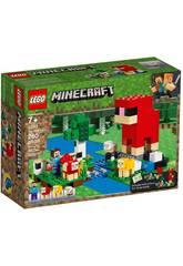 imagen Lego Minecraft La Granja de Lana 21153