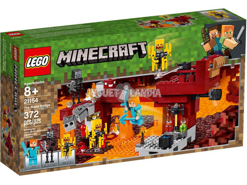 Lego Minecraft Il Ponte di Blaze 21154