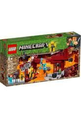 Lego Minecraft A Ponte de Blaze 21154