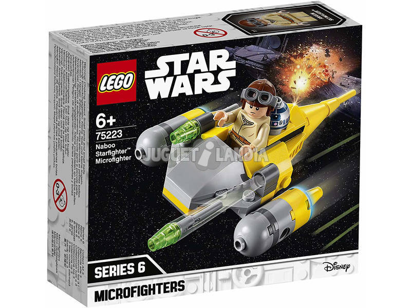 Lego Star Wars Microfighters Caza Estelar de Naboo 75223