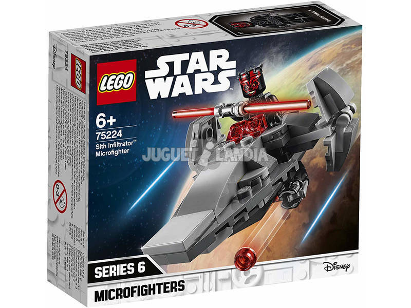 Lego Star Wars Microfighters Infiltrador Sith 75224