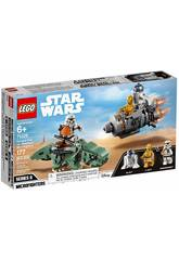 Lego Star Wars Microfighters Cápsula de Escape vs. Dewback 75228