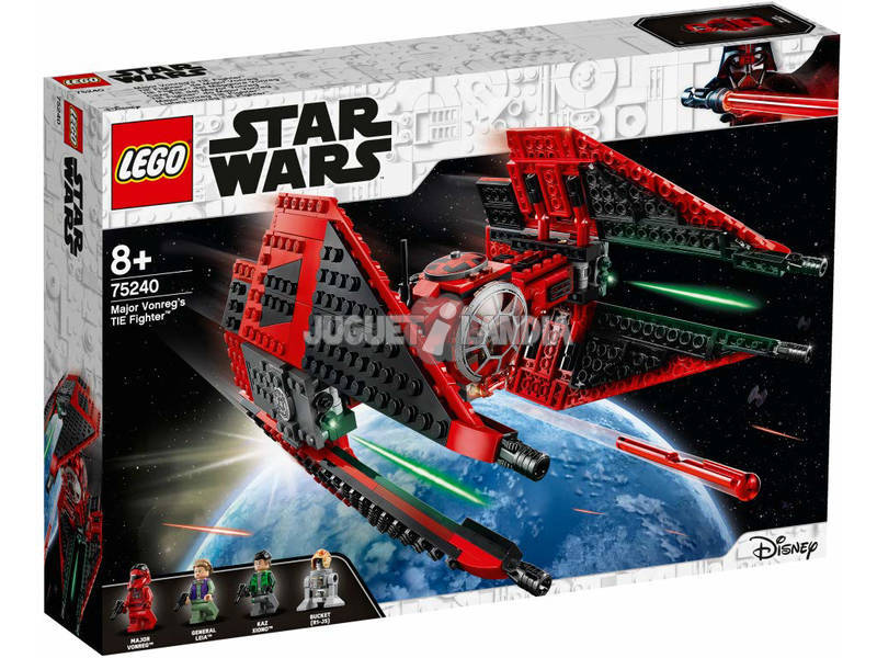 Lego Star Wars Caza Tie del Mayor Vonreg 75240
