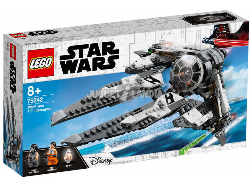 Lego Star Wars Black Ace TIE Interceptor™ 75242