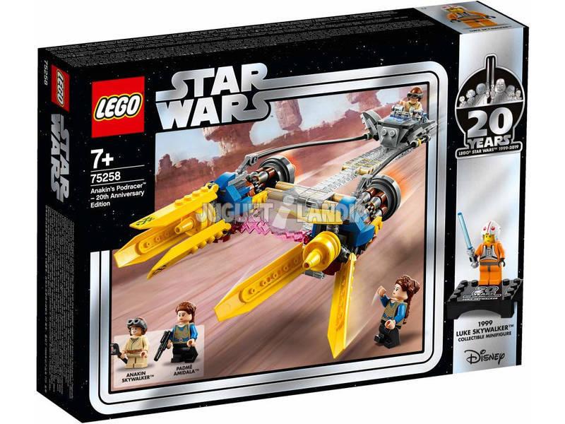 Lego Star Wars Vaina de Carreras de Anakin Edición 20 Aniversario 75258