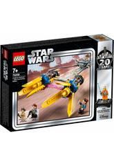 imagen Lego Star Wars Vaina de Carreras de Anakin Edición 20 Aniversario 75258