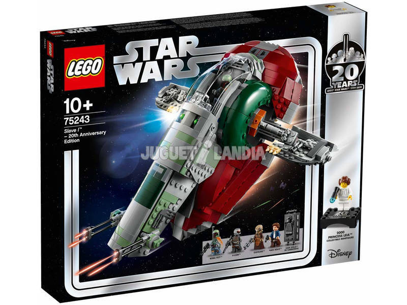 Lego Star Wars Slave I 20th Anniversary Edition75243
