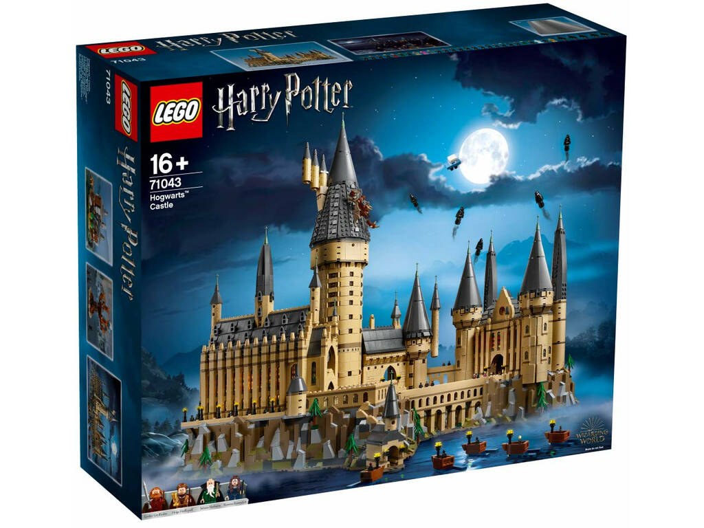 Lego Exclusivas Harry Potter Castillo de Hogwarts 71043