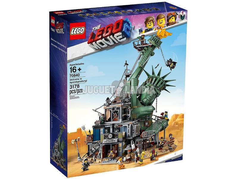 Lego Exclusivas Lego Movie 2 ¡Bienvenidos a Apocalipsisburgo! 70840
