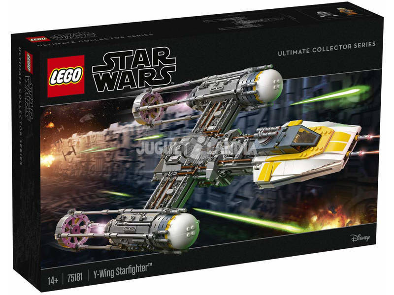 Lego Exclusive Star Wars Y-Wing Starfighter 75181
