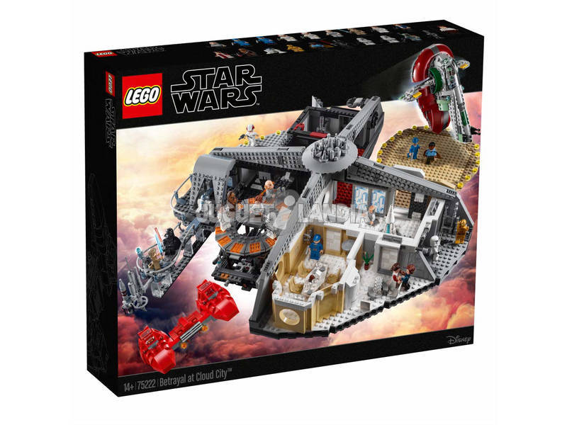 Lego Star Wars Tradimento a Cloud City 75222