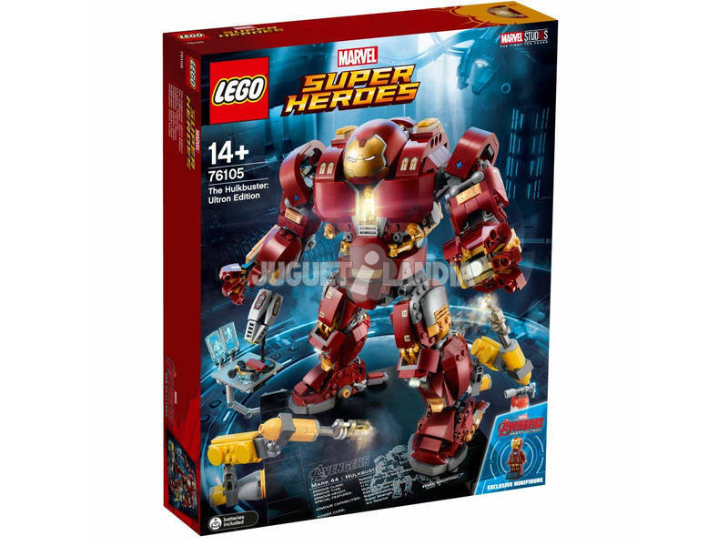 Lego Marvel Super Heroes Hulkbuster: Ultron Edition 76105