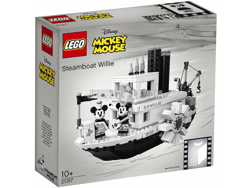 Lego Ideas Mickey Mouse El Botero Willie 21317