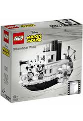Lego Idee Mickey Mouse Il Barcaiolo Willie 21317