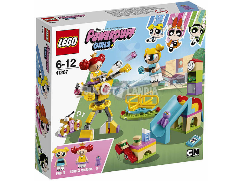Lego As Powerpuff Girls Duelo no Parque da Bubbles 41287
