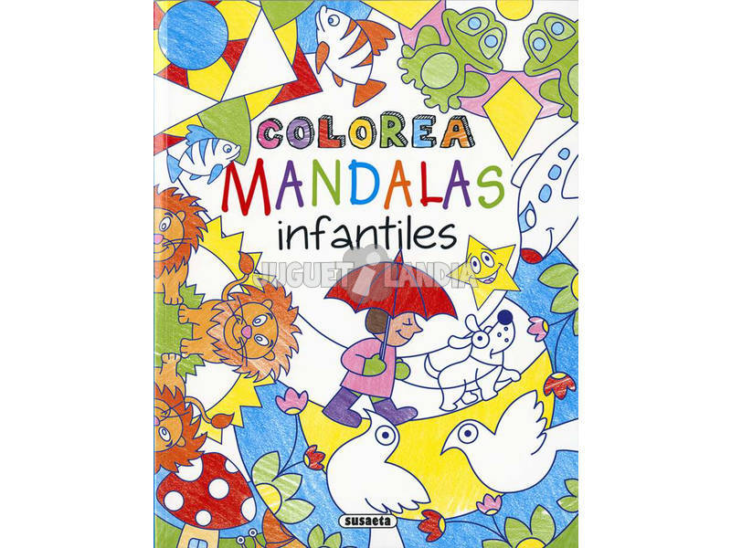 Colora Mandala Infantili Susaeta S6049