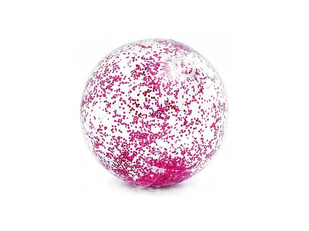 Ballon Gonflable avec Paillettes 71 cm Intex 58070