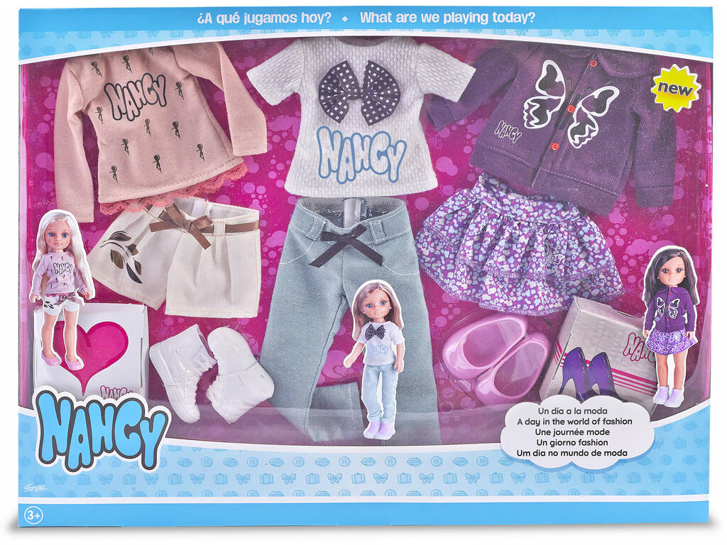 Nancy Um Dia no Mundo de Moda Famosa 700013726
