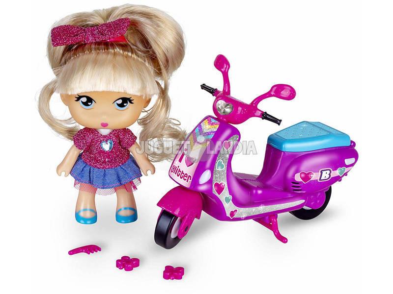 Barriguitas Moto de Purpurina Famosa 700014934