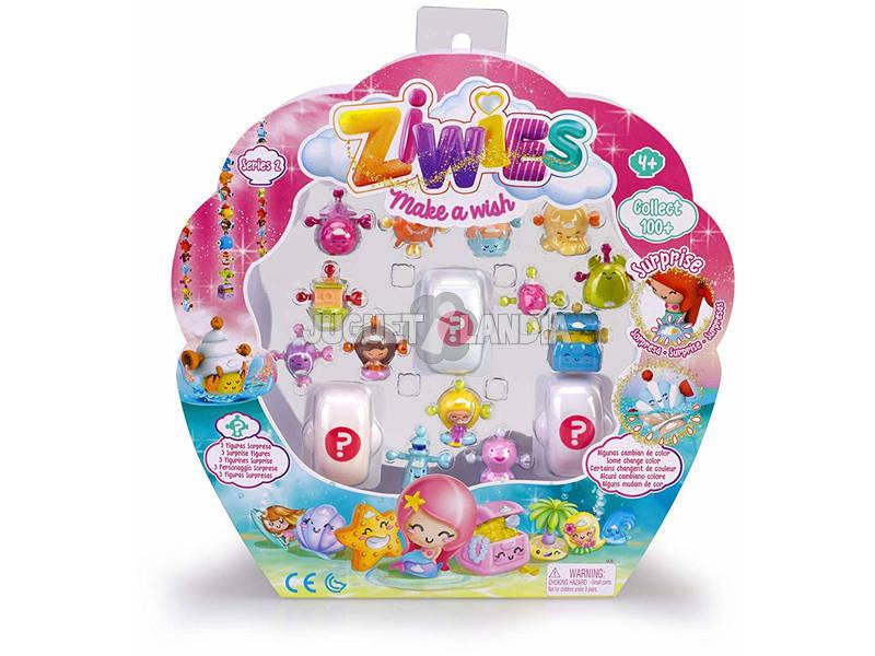 Ziwies Pack 16 Figuras Famosa 700014603