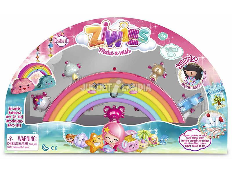 Ziwies Arco-íris com 5 Figurinhas Famosa 700014800