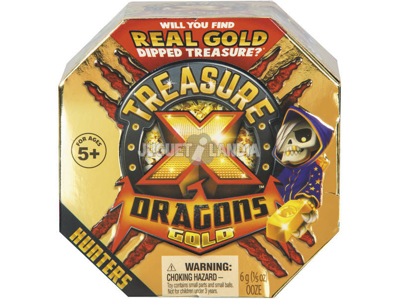 Treasure X Dragons Gold Caçadores Famosa 700015108