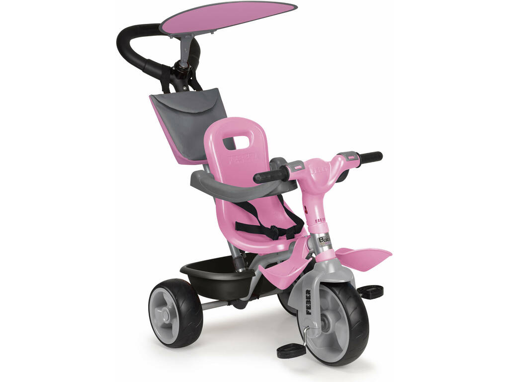 Triciclo Baby Plus Music Pink Famosa 800012132
