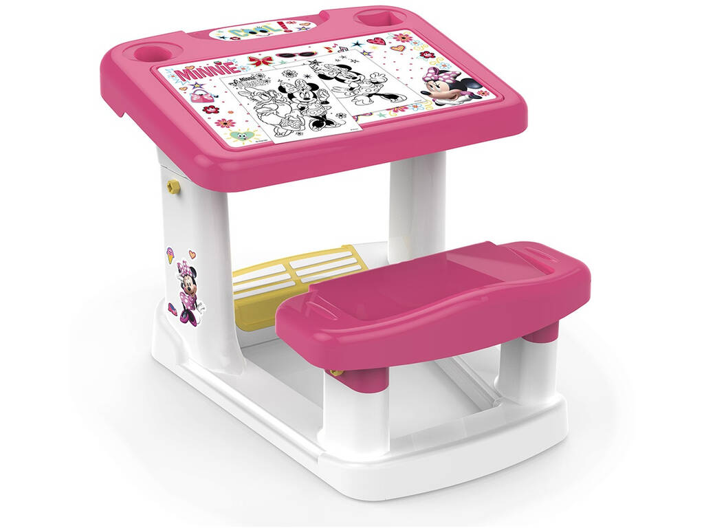 Mesa Infantil Minnie Mouse Fábrica de Brinquedos 51119