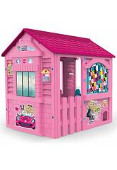 Casinha Infantil Barbie Fábrica de Brinquedos 89609