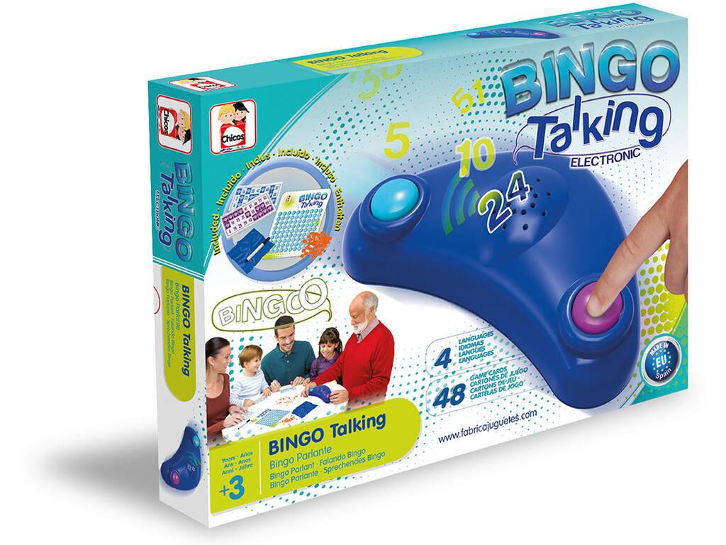 Bingo Electrónico Parlante Chicos 22409