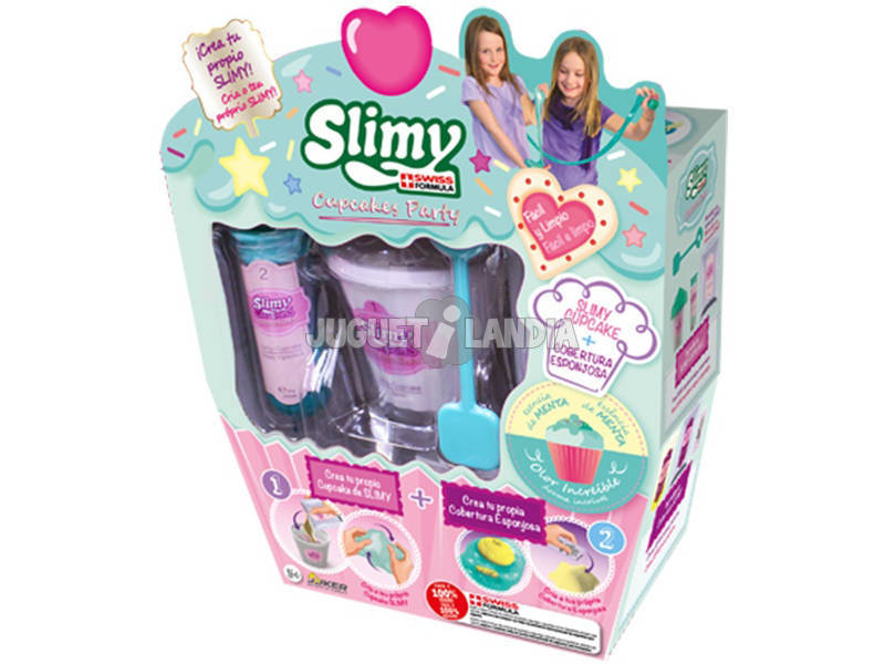 Slimy Creations Cupcake Party Piccoli 41312