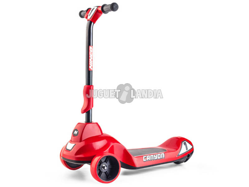 Trotinete Elétrico Infantil 6V Canyon Red Ninco NH33017