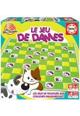 Le Jeu De Dames Francés Educa 18154