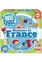 imagen Defi Quiz Découvre La France Francés Educa 18155