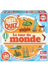 imagen Defi Quiz Le Tour Du Monde Francés Educa 18156