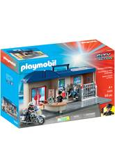 Playmobil Commissariat Mallette 5689