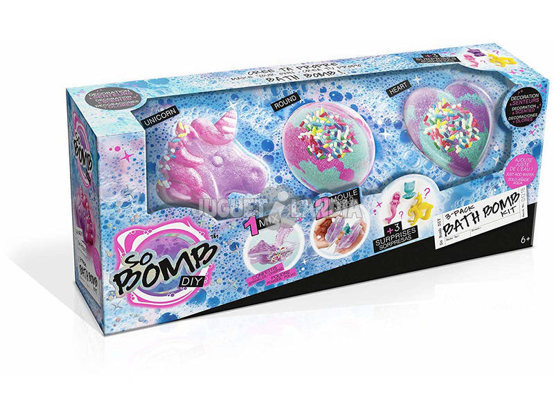 Bath Bomb Kit Set 3 Canal Toys BBD 014