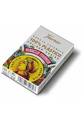 Mazzo Spagnole 50 Carte Plastica Fournier 35182