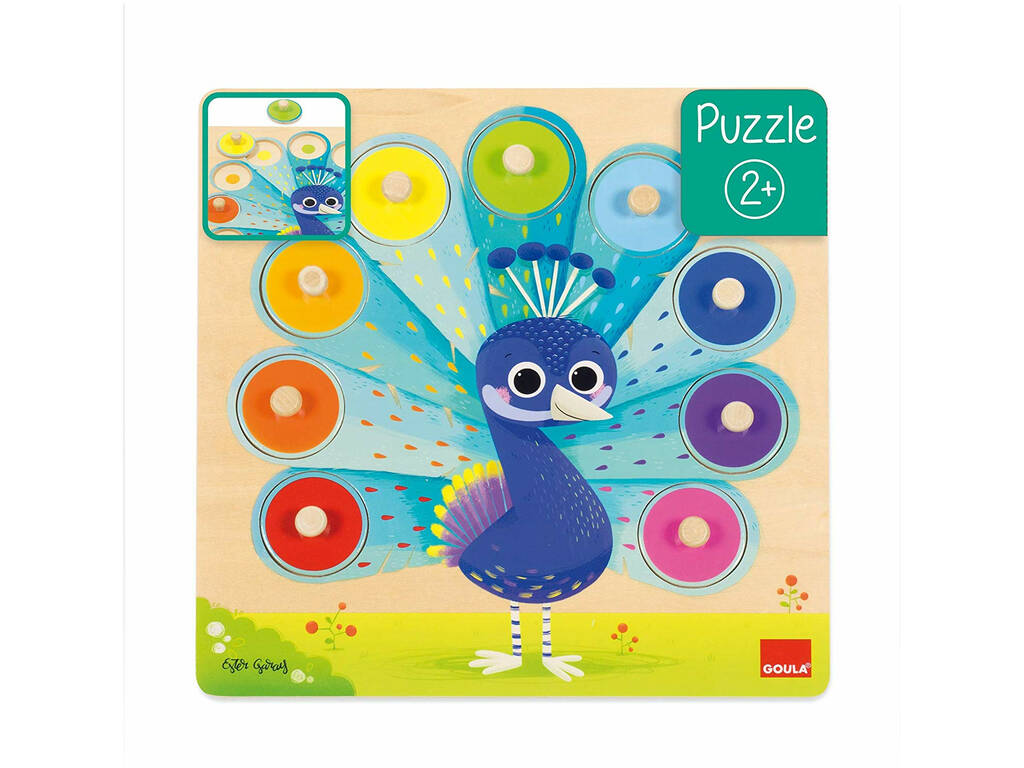 Puzzle Pavone Reale Goula 453060