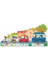 Puzzle XXL Vehículos Goula 453428