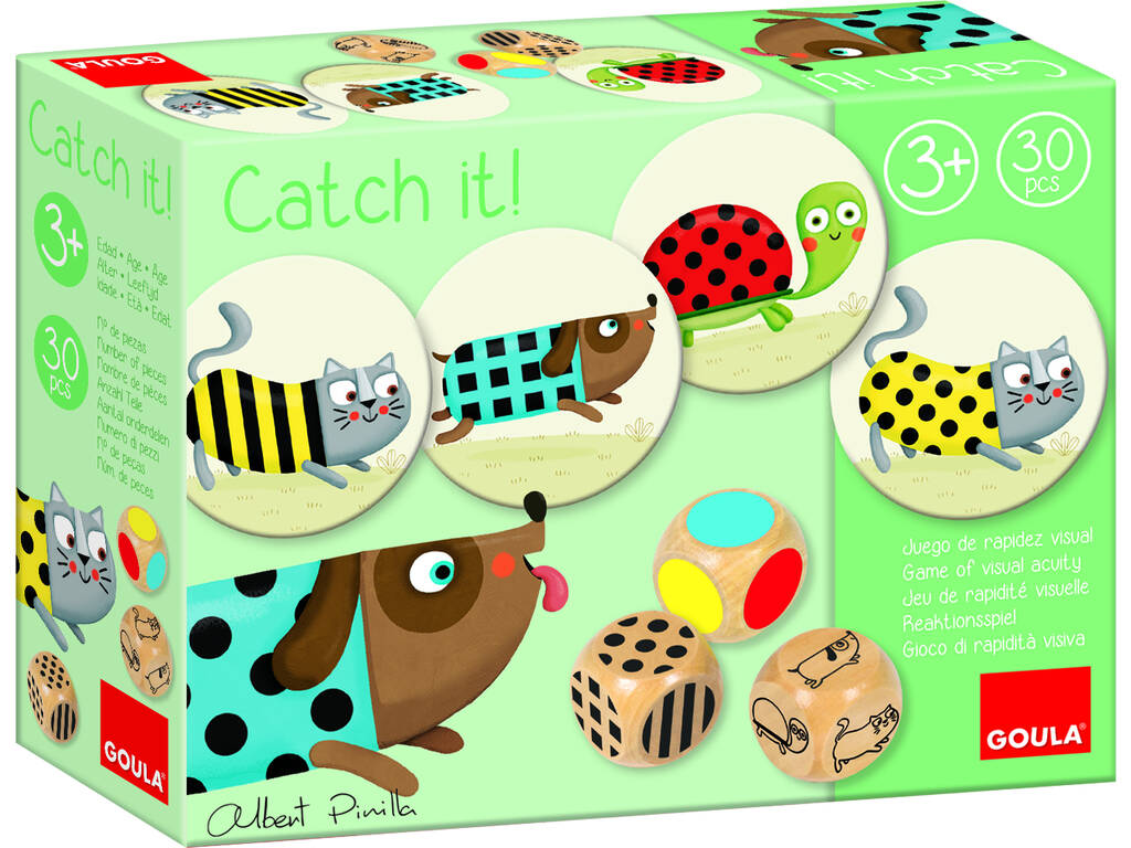 Juego Goula Catch It! Diset 53446