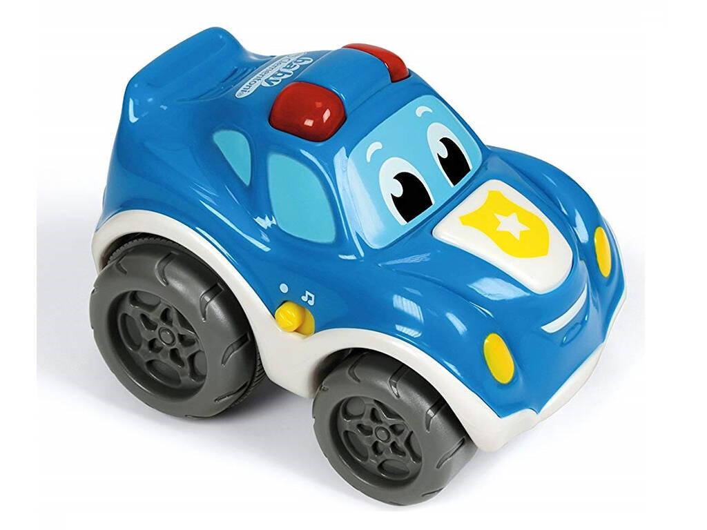 Carro Policía Retro fricção com luzes e Sons Clementoni 17179