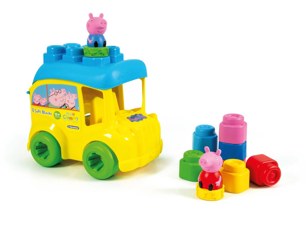 Clemmy Baby Autobús Peppa Pig Clementoni 17248