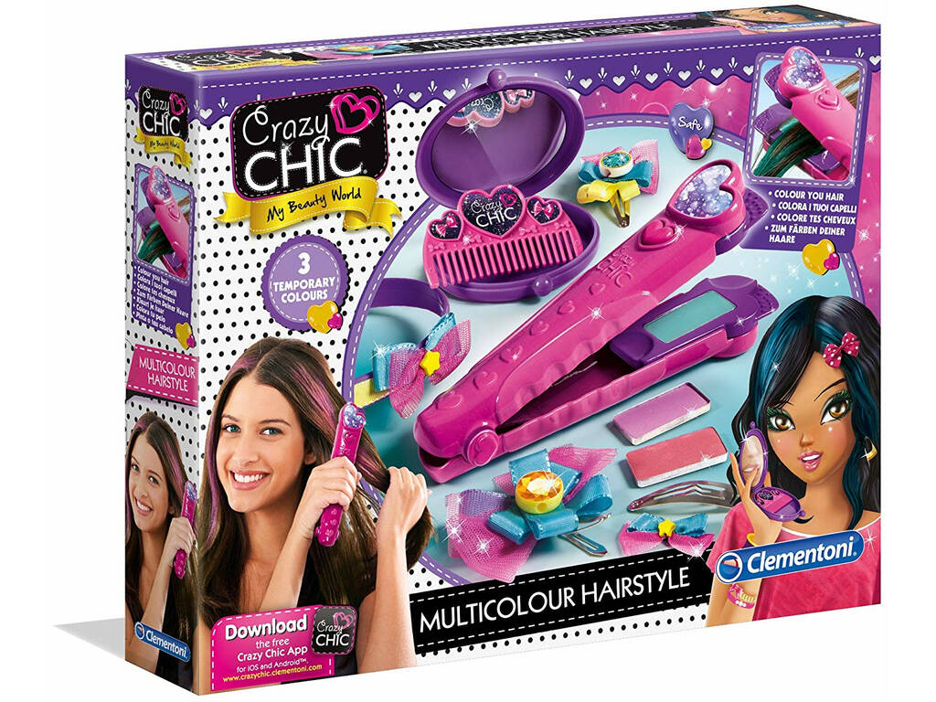 Multicolour Hairstyle Clementoni 15225