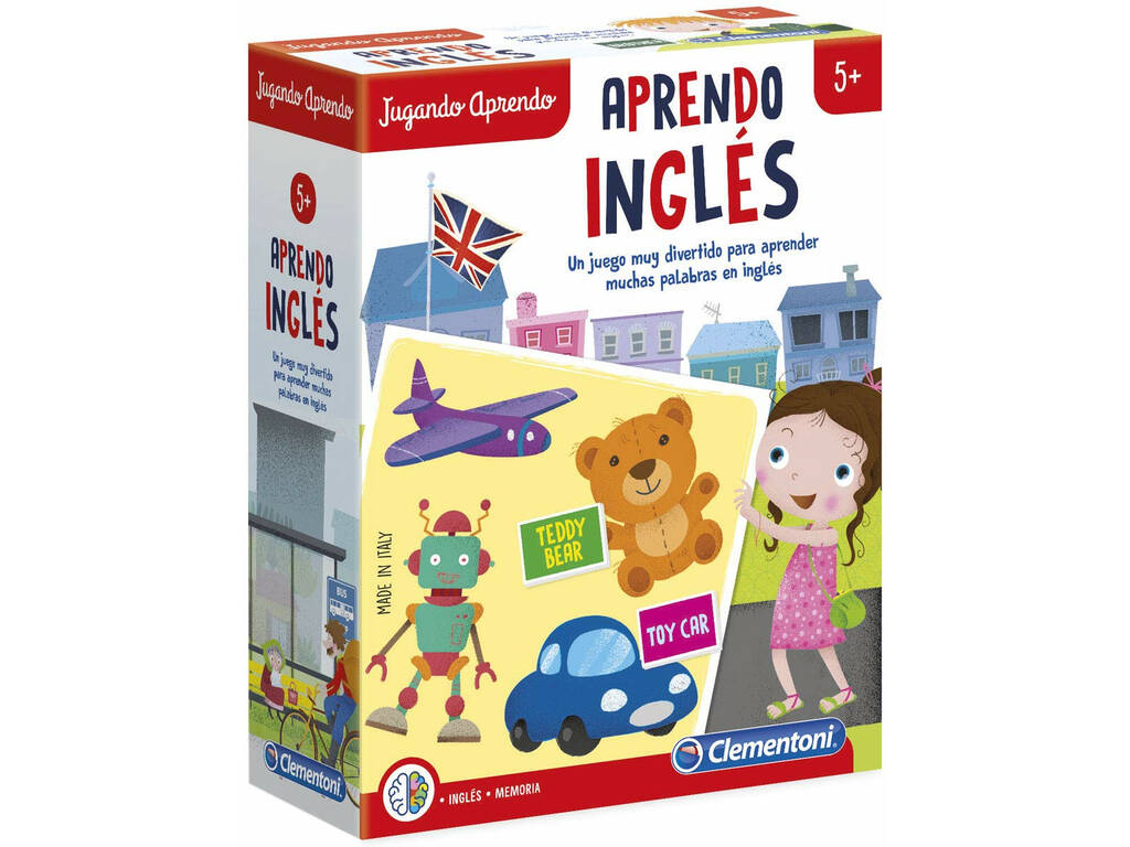 Jogando Aprendo Inglês Clementoni 55311