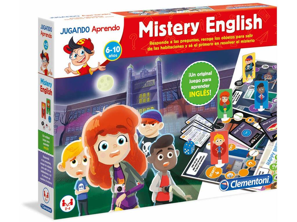 Jugando Aprendo Mistery English Clementoni 55227