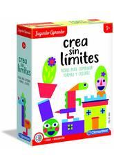 J´apprends en Jouant Créez Sans Limites Clementoni 55312