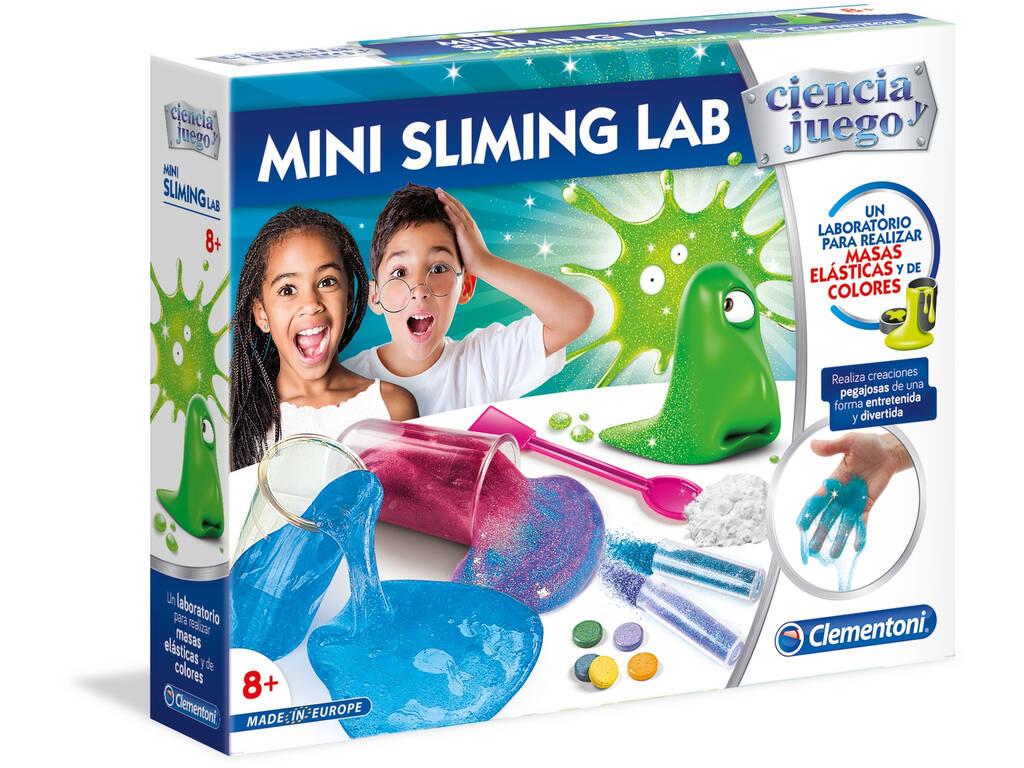 Mini Sliming Lab Créez Votre Slime Clementoni 55281